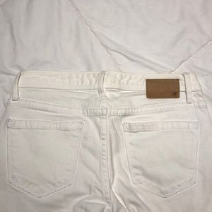 Converse Jeans - White Jean Jegging